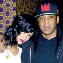Rihanna with Jay Z