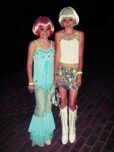 Kylie Kendall Jenner Dressed As Street Women age 5 and 7