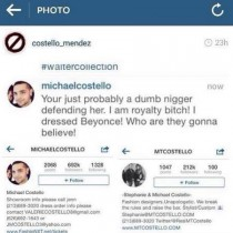 Racist Michael Costello