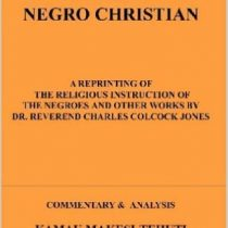 how to make a negro a Christian